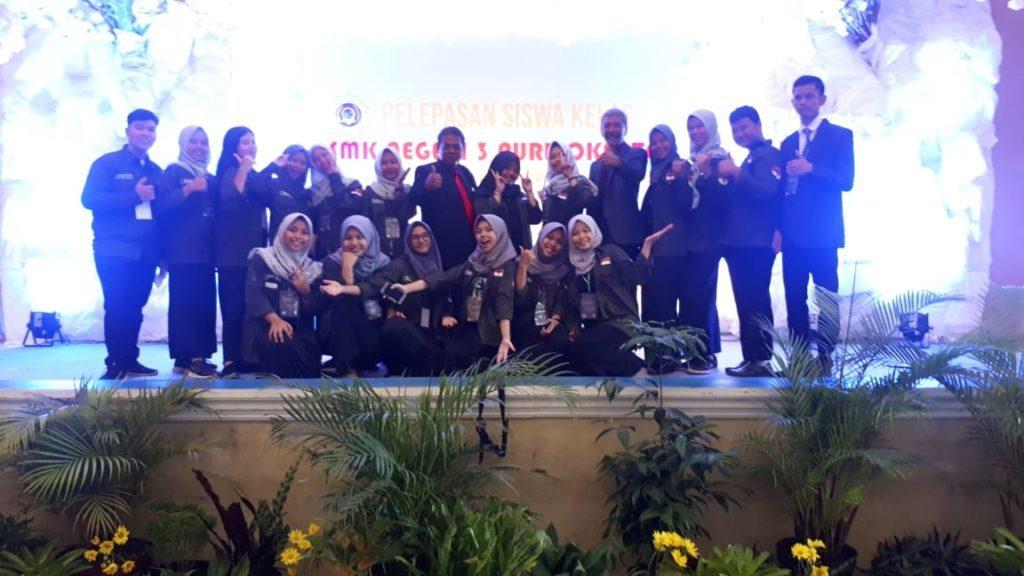 Pelepasan Siswa SMK Negeri 3 Purwokerto 2017/2018
